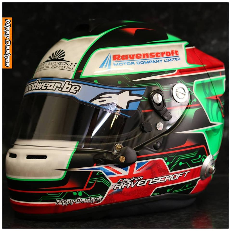 Clayton Ravenscroft Helmet3